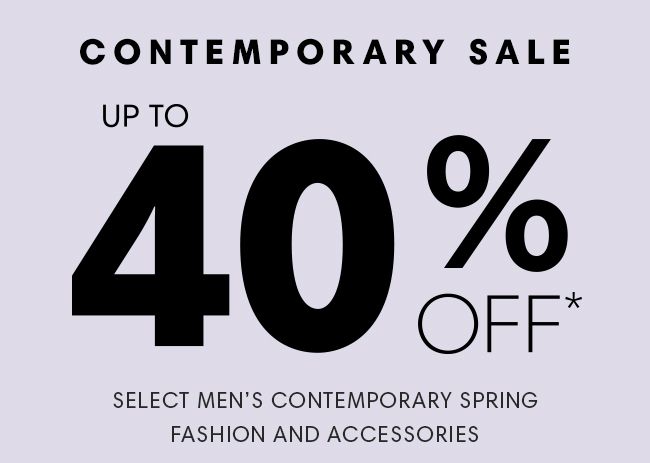 Contemporary Sale